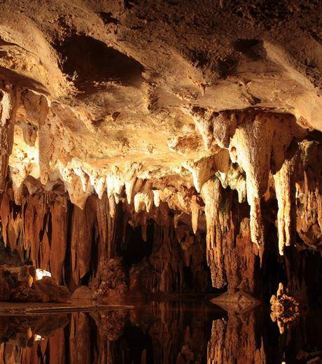 Luray Caverns In Virginia, United States Of America