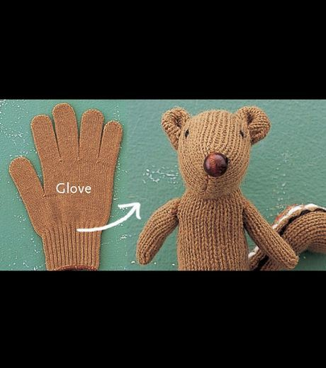 A Toy Made From Gloves