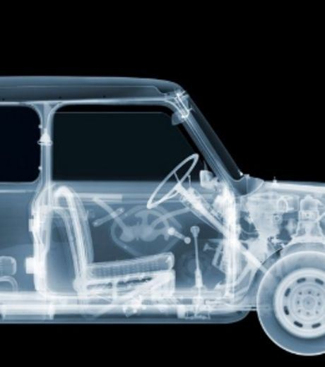 X-Ray Image of A Car