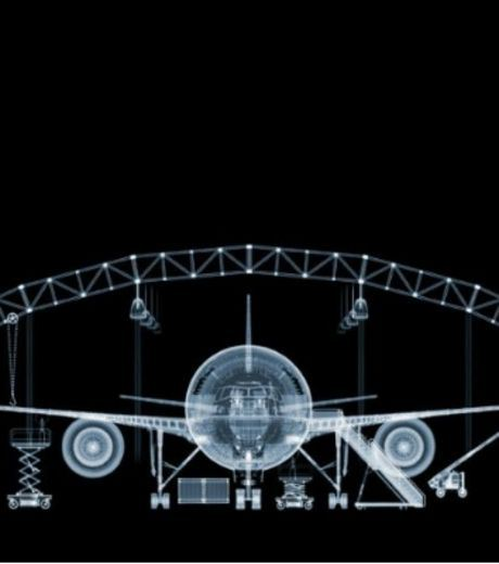 X-Ray Image of Boeing 777