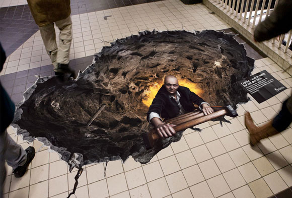 The Stockholm metro invaded by creatures from hell Orpheus