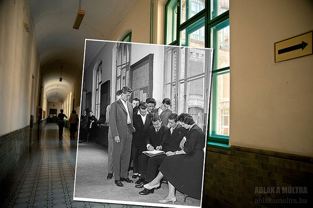1961 and 2013--Location: Budapest, Hungary, Budapest University of Technology.