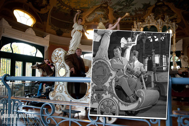 1962 and 2012--Location: Budapest, an amusement park.