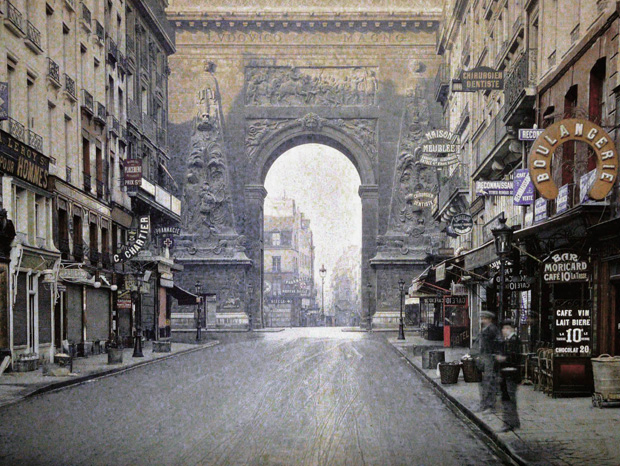 Paris Of 1900s in Color