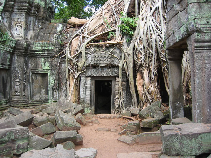 Mahendraparvata--The 1200 years old Cambodian city