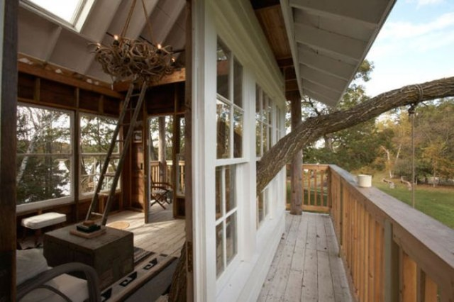 A window on the Tree House
