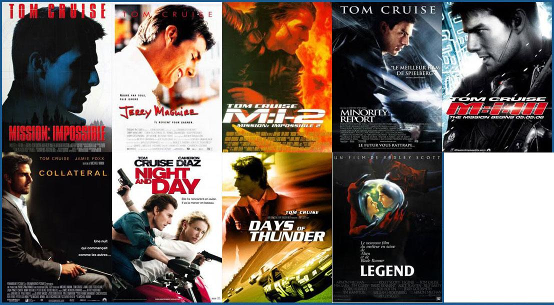 Tom Cruise loves films with his profiles on them