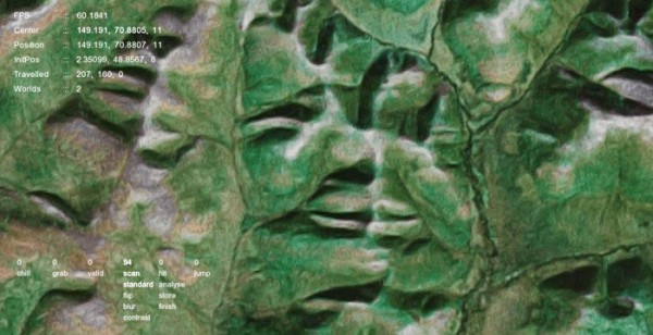 Google Faces identifies human faces on Google Maps.