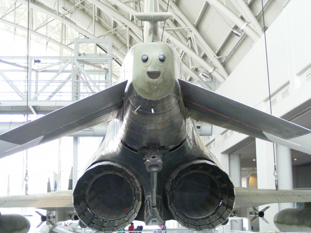 The Happiest aircraft in the world
