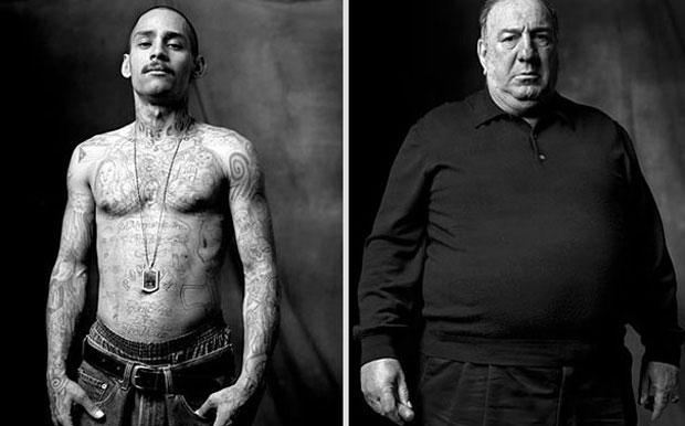 Gang member and mafioso