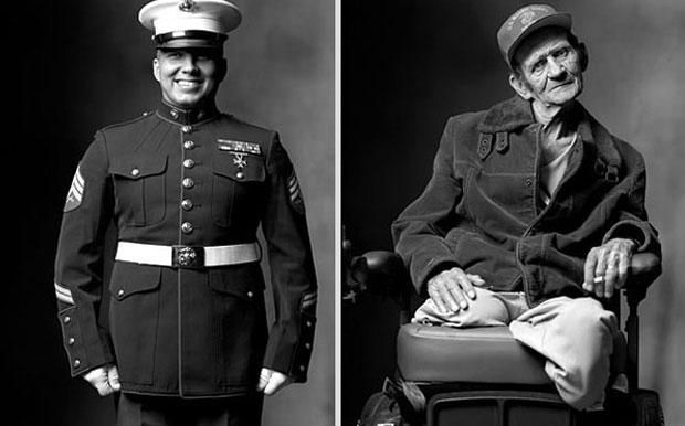 Marine and war veteran