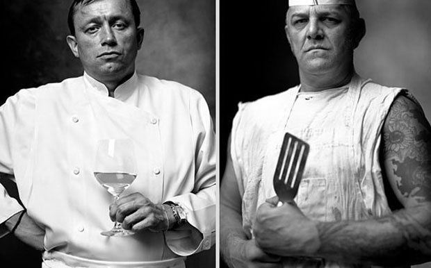 French chef and cook at any restaurant