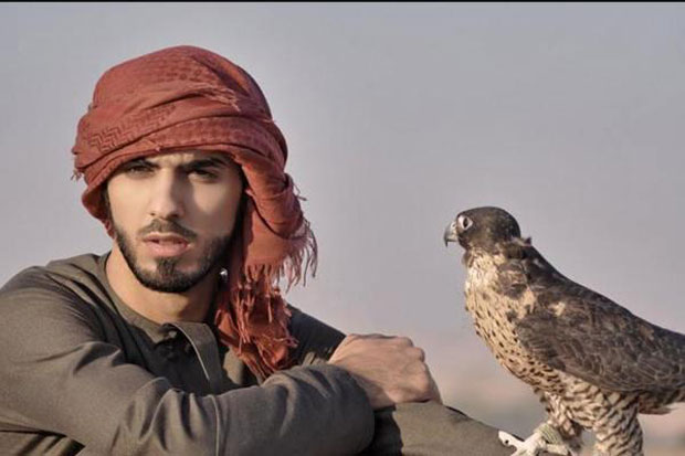 Omar Al Borkan Gala--expelled from Saudi Arabia for good looks