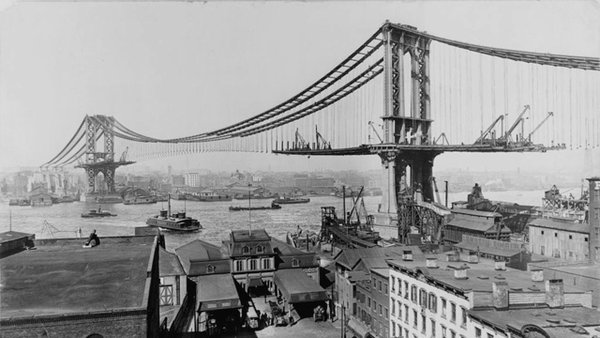 Manhattan Bridge– New York (1901-1912)