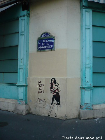 The Artwork By Miss Tic From Paris