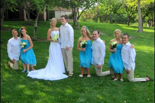 These brides don't have small legs