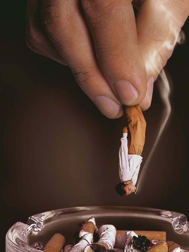 Top anti-smoking publicity posters