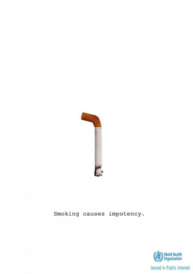 Smoking causes impotency