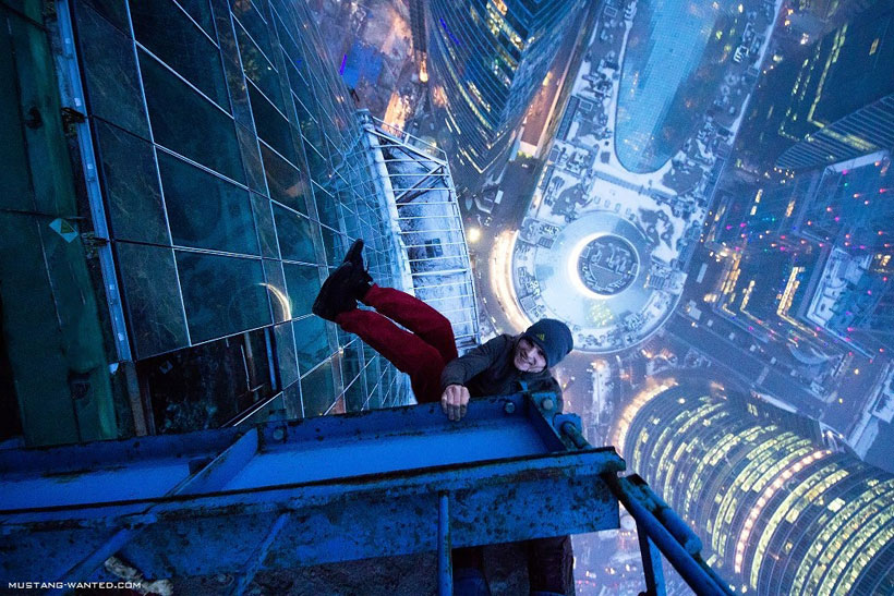 The Extreme Stunts Of These Young Men Will Make You Dizzy (Photo Gallery)