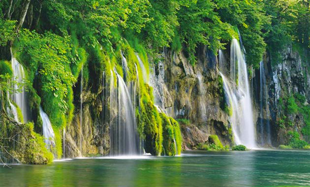 The Plitvice Lakes National Park, Croatia.