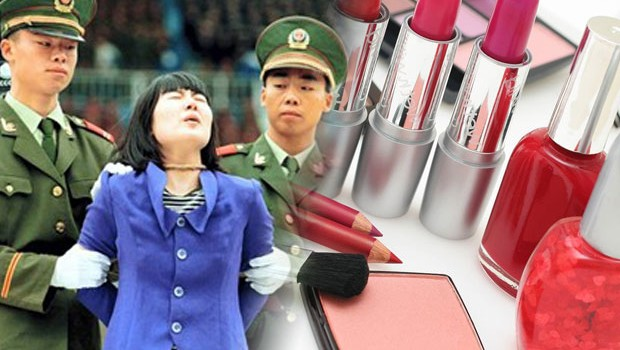 The skin of those executed by chinese authorities are used in Beauty Products