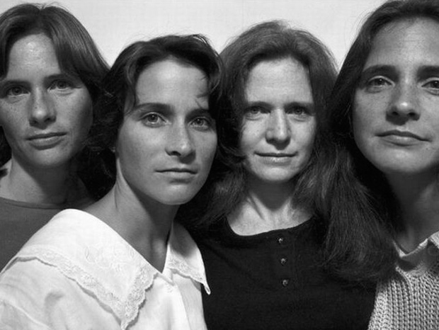 Four Sister In 1986 (Credit Nicholas Nixon)