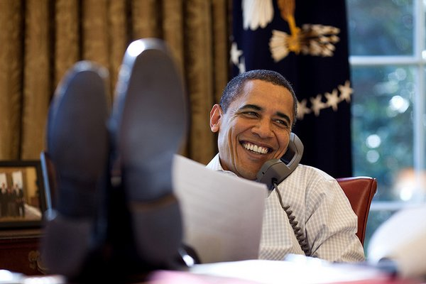 Cool Photos Of Obama (Credit photo : Pete Souza / The White House)