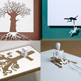 Top 20 Amazing Sculptures Cut From A Single Sheet Of Paper (Photo Gallery)