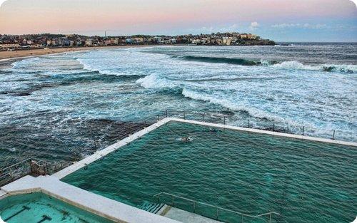 Bondi Icebergs. Sydney, Australia