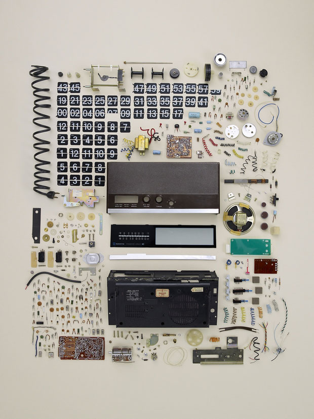 Parts of a radio