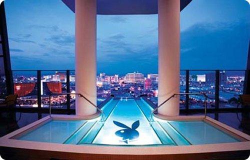 Hugh Hefner Sky Villa, Palms Hotel. Las Vegas, USA