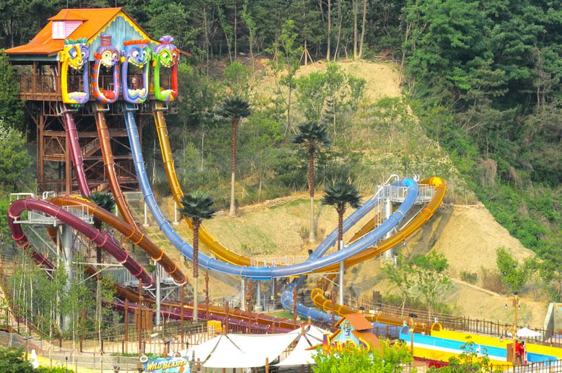 The Aqualoop -the Everland Resort,  South Korea