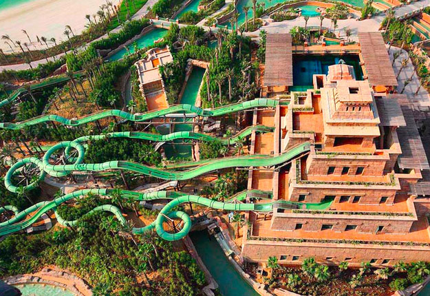 The Master Blaster Water Coaster, Dubai