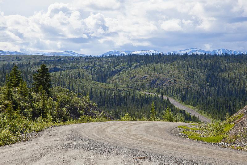 Denali highway, Route 8, Alaska