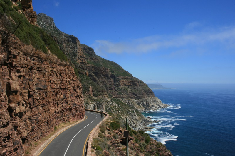 Chapman's Peak Mountain, Кейптаун, Южно-Африканская Республика