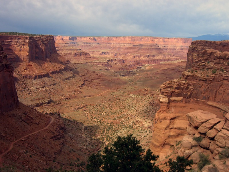 White Rim Road, cannyolands National Park, Utah