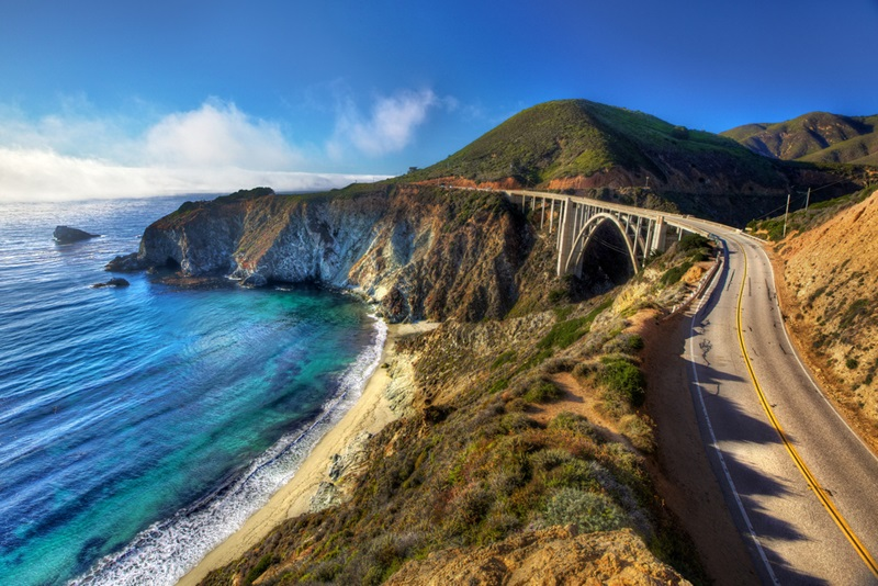 Highway 1, Big Sur, Калифорния