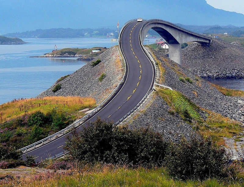 The Atlantic Road, Норвегия