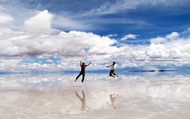 Salar de Uyuni Salt Desert, Боливия