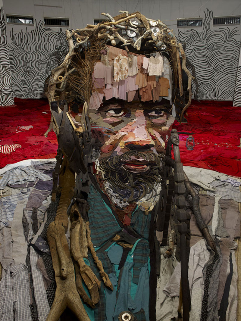 objects portraits everyday famous artist using french amazing portrait bernard pras sculpture painting paint extraordinary assemblage arranged clothes created sculptures