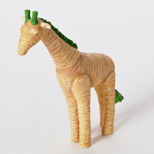 A Horse Sculptures made From Vegetable