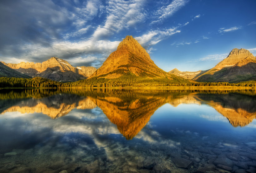 The Glacier National Park in Montana