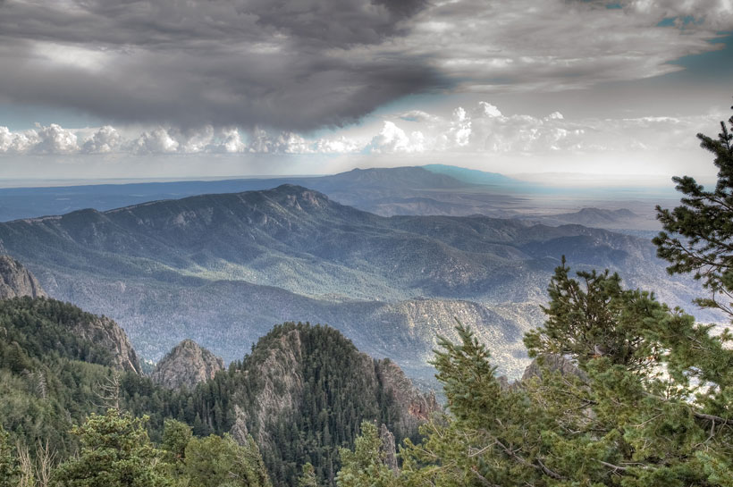 The Manzano Mountains of New Mexico