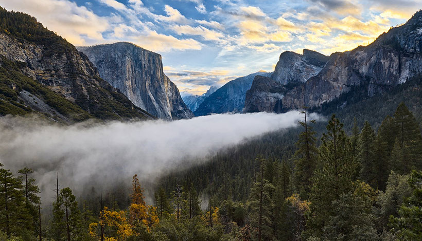 Yosemite Park in California