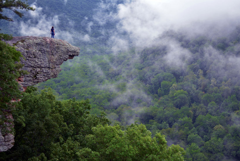 Whitaker Point in Arkansas
