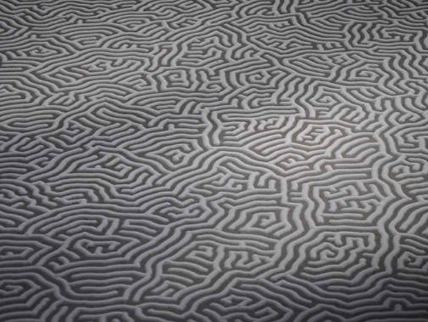 Wonderful artwork using salt done by Japanese artist