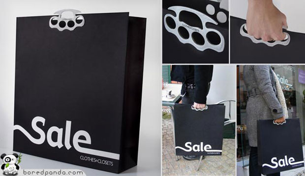 Creative Bag Advertisements Knuckle