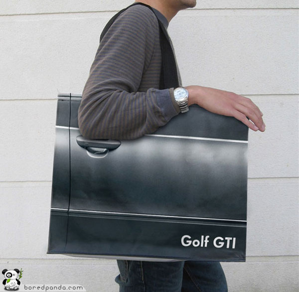 Creative Bag Advertisements Volkswagen