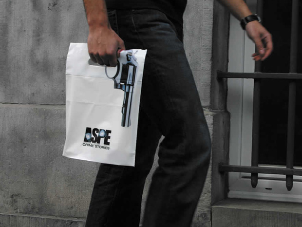 Crime bag: Unique Shopping Bags For Advertising