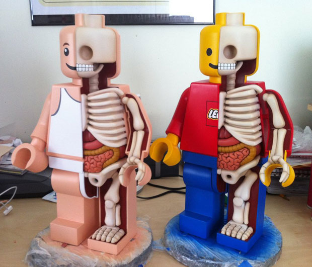 Dissected Anatomy Models Pop Culture Icons 36